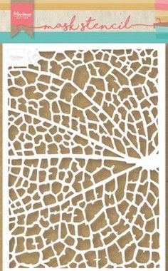 Marianne Design Stencil Tiny's Leaf Grain PS8041