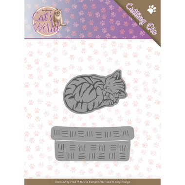 Dies - Amy Design - Cats - Sleeping Cats