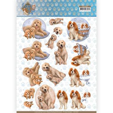 3D Knipvel - Amy Design - Dogs Life - Dog Mommy
