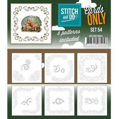 Cards only Stitch 54