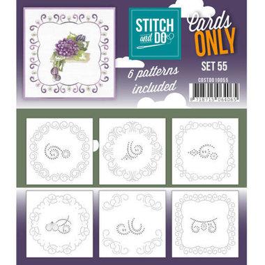 Cards only Stitch 55