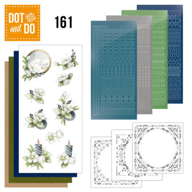 Dot and Do 161 Amaryllis and Blueberries