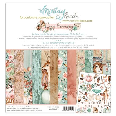 Mintay paperset Cozy Evening 30,5 x 30,5 cm