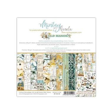 Mintay paperpad Old Manor 15,2 x 15,2 cm