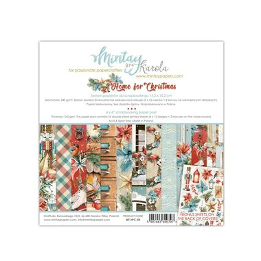Mintay paperpad Home For Christmas 15,2 x 15,2 cm