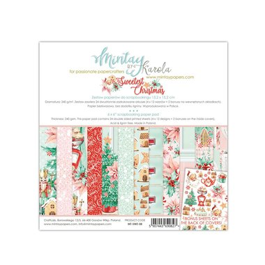 Mintay paperpad The Sweet Christmas 15,2 x 15,2 cm
