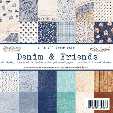 Maja Design Paperpack Denim & Friends