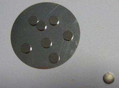 magneten Ø10MMx2MM 8 ST