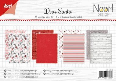 Joy! papierset Dear Santa 6011/0626