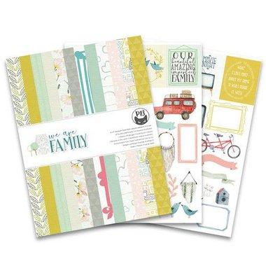 Piatek13 - Paper pad We are family 6x8