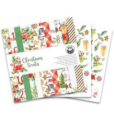 Piatek13 - Paper pad Christmas treats 12x12