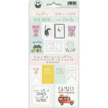 Piatek13 - Sticker sheet We are family 02
