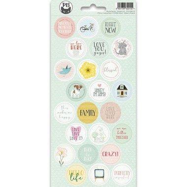 Piatek13 - Sticker sheet We are family 03