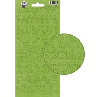 Piatek13 - Alphabet sticker sheet Christmas treats 01