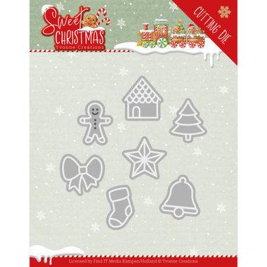 Dies - Yvonne Creations - Sweet Christmas - Sweet Christmas Cookies