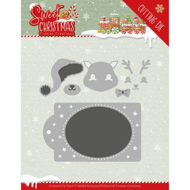 Dies - Yvonne Creations - Sweet Christmas - Sweet Christmas Deer