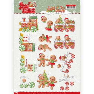 3D Knipvel - Yvonne Creations - Sweet Christmas - Sweet Cookies