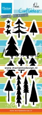 Marianne Design Craftable bomen by Marleen CR1483