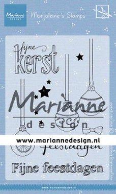 Marianne Design Clear Stamps Morjoleine's Kerstballen MZ1906