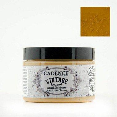 Cadence Vintage Legend gesso Oxide - geel 150ml