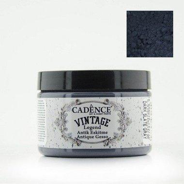 Cadence Vintage Legend gesso Dark Slate - grijs 150ml
