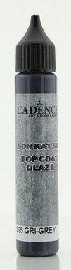 Cadence Top Coat Glaze - voor Beton effect Grijs 25ml