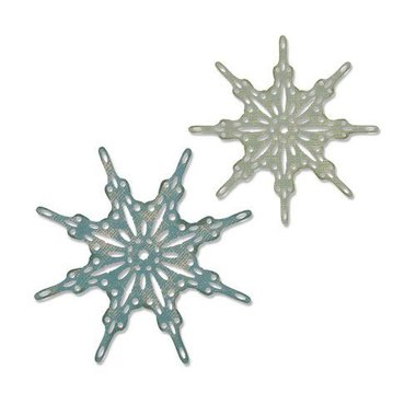 Sizzix Thinlits Die set - 2PK Fanciful Snowflakes Tim Holtz