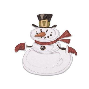 Sizzix Thinlits Die set - 11PK Mr. Snowman Colorize Tim Holtz