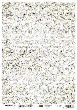 Studio Light Rice Paper A4 vel Jenine's Mindful nr 05