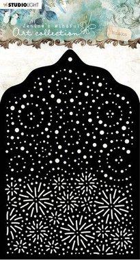 Studio Light mask Stencil A6 Jenine's Mindful nr 02