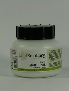 CraftEmotions Multi coat mat 250ML
