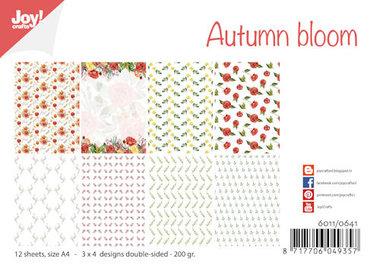 Joy! papierset Autumn Bloom 6011/0641