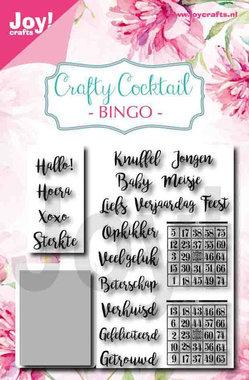 Joy! stempel met mal bingo 6004/0039