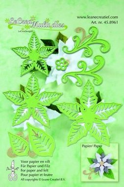 LeCrea - LeCrea Multi die flower 004 Ponsettia