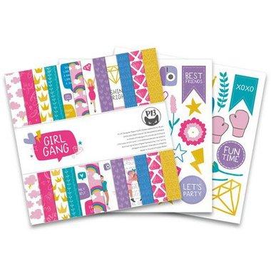 Piatek13 - Paper pad Girl Gang 15,3 x 15,3 cm