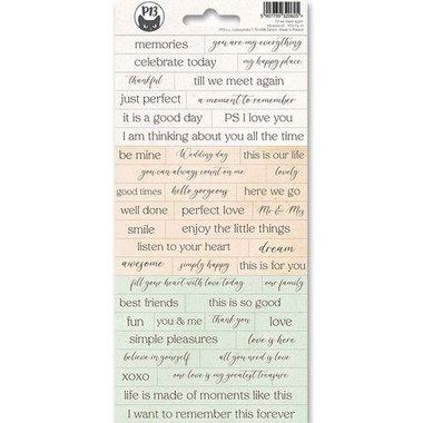 Piatek13 - Sticker sheet Till we meet again 01
