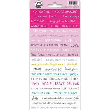 Piatek13 - Sticker sheet Girl Gang 01