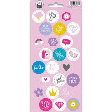 Piatek13 - Sticker sheet Girl Gang 03