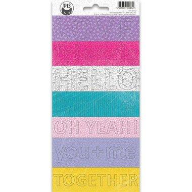 Piatek13 - Sticker sheet Girl Gang Phrase 02