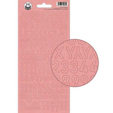 Piatek13 - Alphabet sticker sheet Till we meet again 01