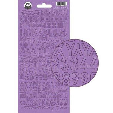 Piatek13 - Alphabet sticker sheet Girl Gang