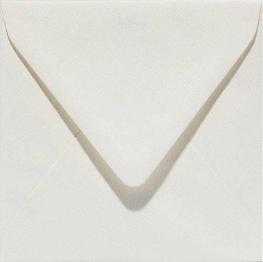 Papicolor Envelop vierk. 14cm anjerwit 105gr - 6 st
