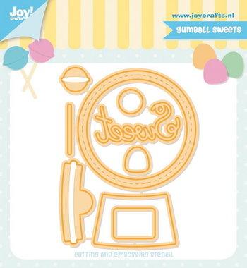 Joy! stencil Jocelijne Gumball sweets 6002/1366