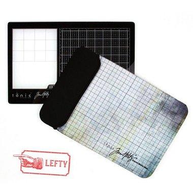 Tonic Studios Tools - Travel Glass media mat  Linkshandig