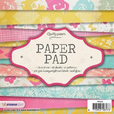 Studio Light Paper pad 36 vel 12 designs nr 65 15x15 cm