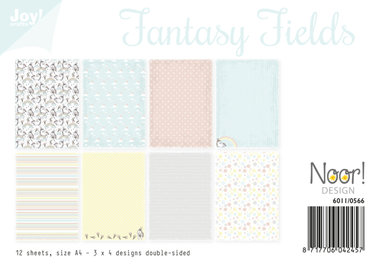 Joy! papierset Fantasy Fields 6011/0566