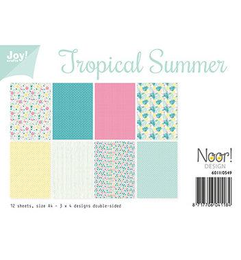 Joy papierset Tropical summer 6011/0549