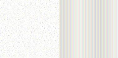 Dini Design Scrappapier 10 vl Confetti - Strepen 30,5x30,5cm
