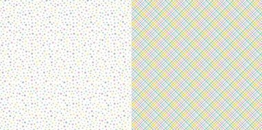 Dini Design Scrappapier 10 vl Bloemen - Geruit 30,5x30,5cm