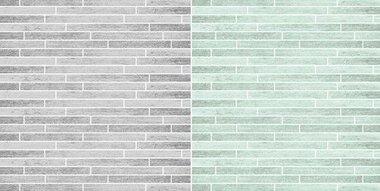 Dini Design Scrappapier 10 vl Hout grijs en mint 30,5x30,5cm